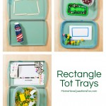 Rectangle Tot Trays