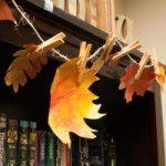 Fall Leaf Garland – Guest Post