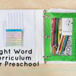Sight Word Curriculum Week 1