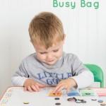 Paint Chip Color Match Busy Bag