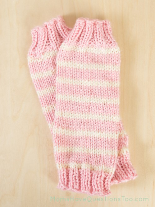 Baby Legwarmers Free Knitting Pattern - Moms Have Questions Too