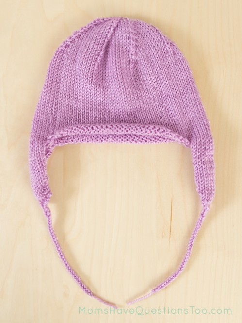 Ear Flap Hat Free Knitting Pattern - Moms Have Questions Too