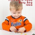 Felt Mr. Potato Head Busy Bag