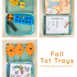 Fall Tot Trays