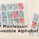 DIY Montessori Moveable Alphabet