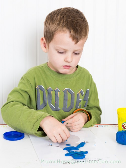 Playdough Mats in $1.99 Christmas Activity Pack from Moms Have Questions Too