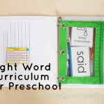 Sight Word Curriculum Week 3