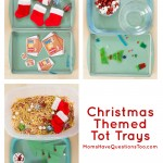 Christmas Tot Trays