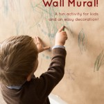 Christmas Craft Wall Mural for Kids