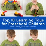 Top 10 Learning Toys for Preschoolers