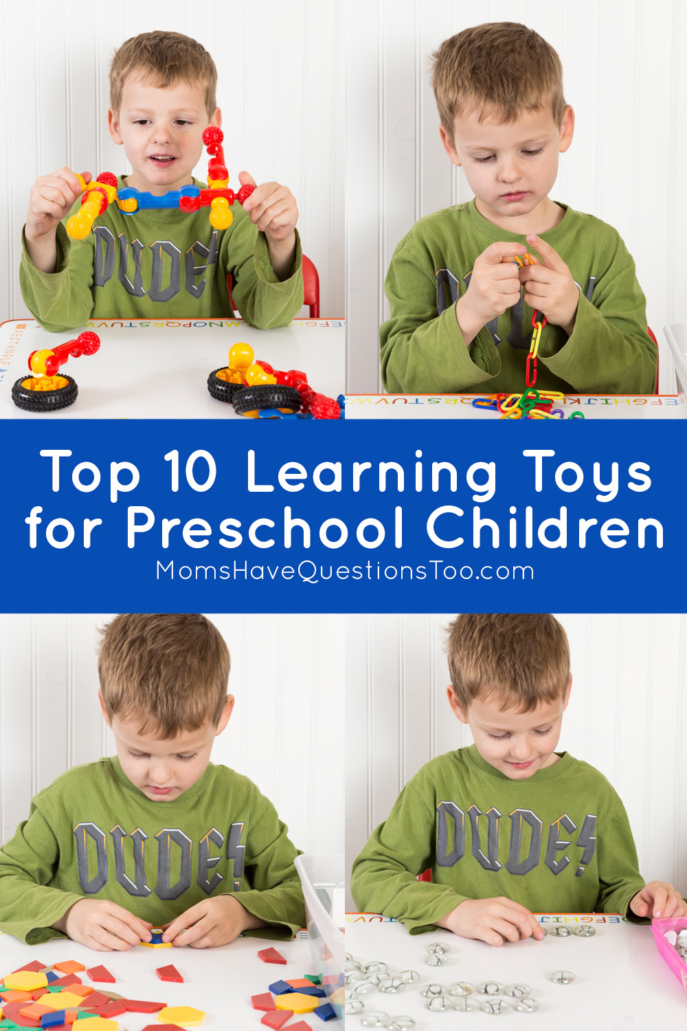 Top Learning Toys For Preschoolers : Top learning toys for preschoolers