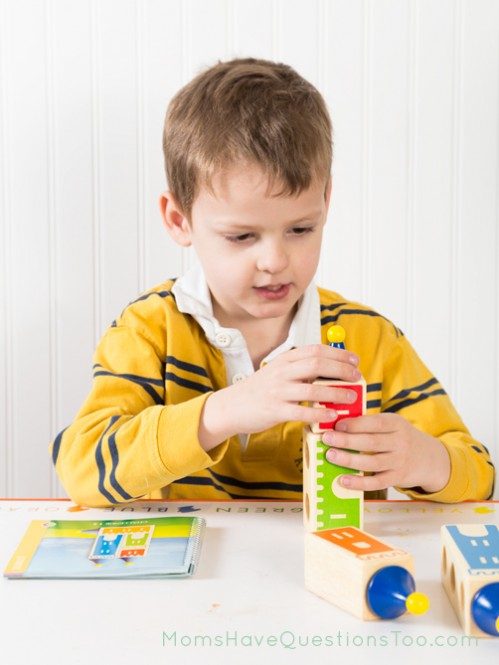 Castle Logix is a fun learning toy for preschoolers - Moms Have Questions Too