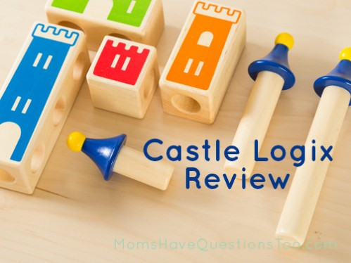 Castle Logix is a great learning toy for preschool and kindergarten aged children that helps them with problem solving - Moms Have Questions Too