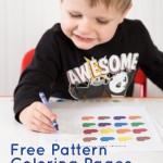 Free Pattern Coloring Printables