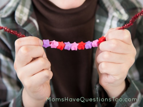 Pattern Bracelet Activity - Moms Have Questions Too