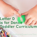 Letter D Tot School: D is for Dance