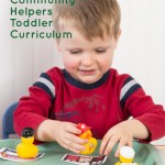 Toddler Curriculum Letter C: C is for Community Helpers