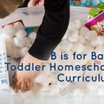 Toddler Curriculum Letter B: B is for Baby