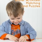 Easter Matching and Puzzle Printables