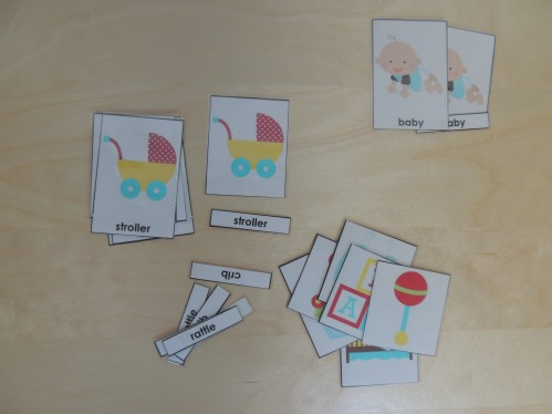 How to use Montessori 3 Part Cards