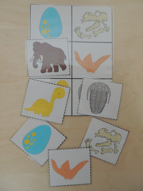 This activity will help prepare your child for Kindergarten math. Matching games for kids teach spatial relations.