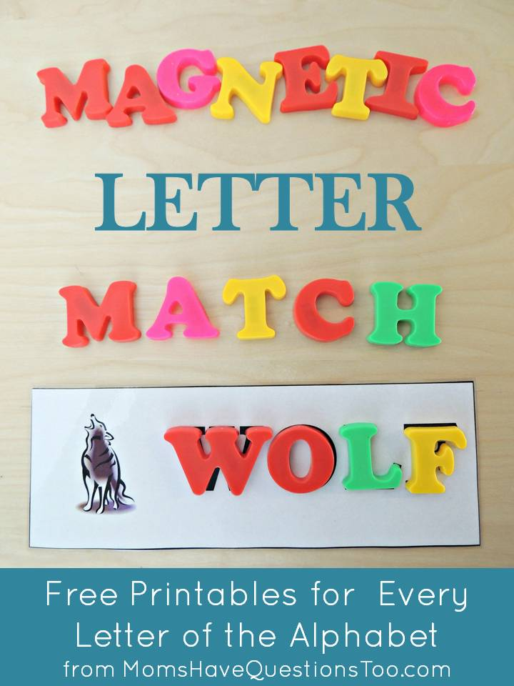 teaching magnets to preschoolers teaching the alphabet with magnetic letter match printables 689