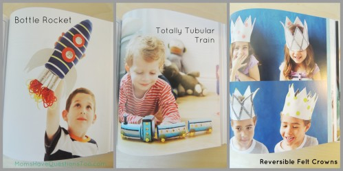 Project Kid. This is a great craft book with unique ideas for boys and girls. Check post for more info.