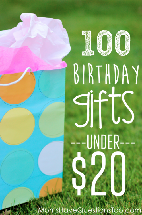 Over 100 unique and inexpensive birthday gift ideas for kids! Includes a free printable list to take with you as you shop! Includes lots of creative ideas you probably haven't thought of!