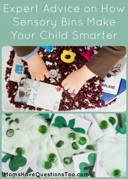 Expert advice on how sensory bins can make your child smarter. Plus, download a pdf with 8 sensory bin ideas.