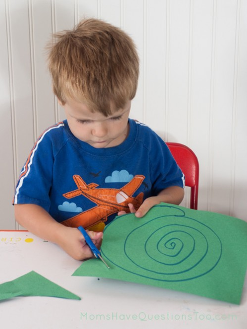 Cutting Practice for Toddlers. J is for Jungle Toddler School. Tons of great ideas to teach the letter J, plus beading, sorting,and more!