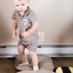 Walk on Pillows for Gross Motor Development