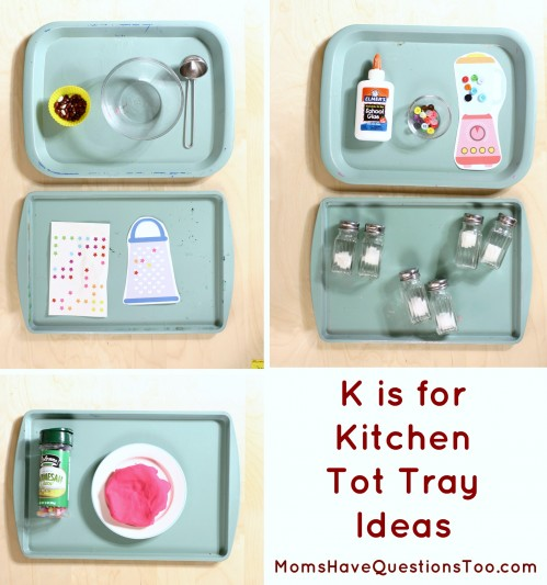 K is for Kitchen Toddler School Unit. One of 26 units. One for each letter of the alphabet!