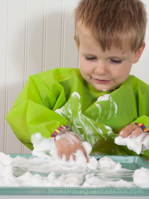 Make the Letter J in Shaving Cream. J is for Jungle Toddler School. Tons of great ideas to teach the letter J, plus beading, sorting,and more!
