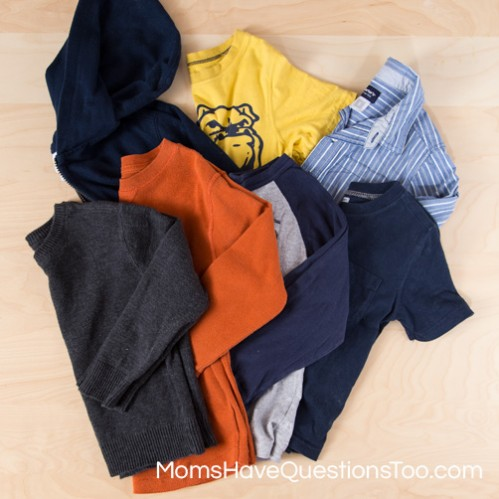 Putting Together a Wardrobe for Boys - Moms Have Questions Too
