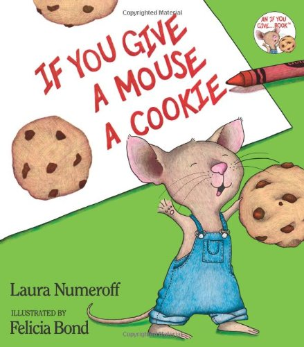If You Give a Mouse a Cookie goes great with K is for Kitchen unit for toddler school!