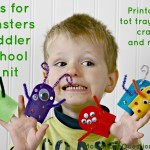 M is for Monsters Toddler Learning Games
