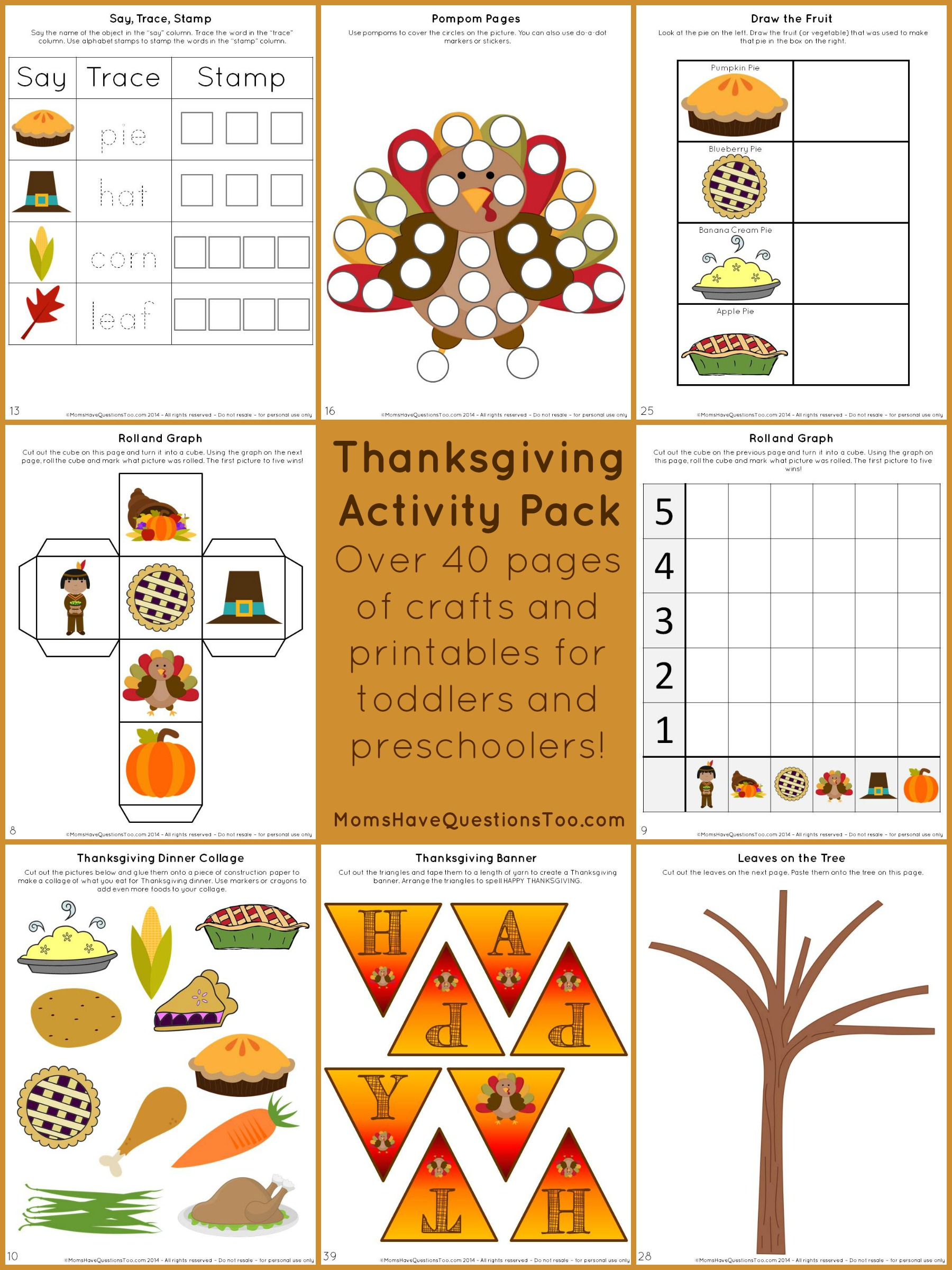 Rare image for thanksgiving cutouts free printable