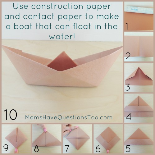 How to make an Origami Boat with a square piece of paper - YouTube | 499x499