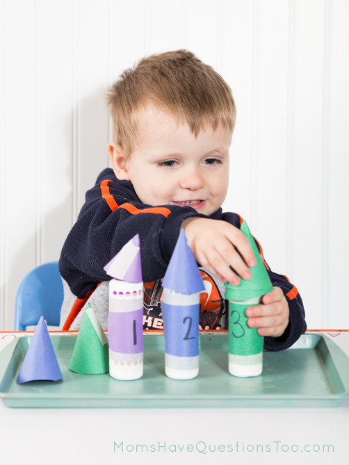 Put the Hats on the Dot Markers - Moms Have Questions Too